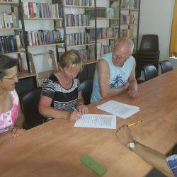 Ondertekening contract met Trynenergie